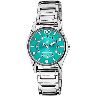 Fastrack Analog Green Dial Womens Watch - 6116SM02