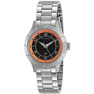 Fastrack Analog Black Dial Womens Watch-6139SM01