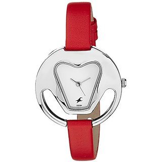 Fastrack Analog White Dial Womens Watch-6103SL01