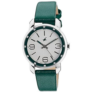 Fastrack Analog Silver Dial Womens Watch - 6111SL01