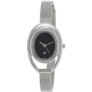 Fastrack Analog Black Dial Womens Watch-6090SM01