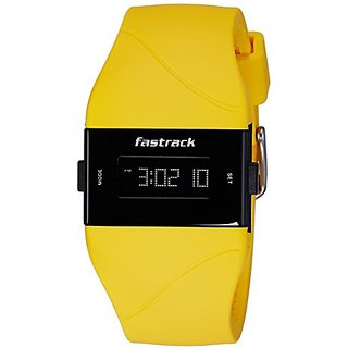 Fastrack Women Silicon Digital Yellow watch - 68003PP02