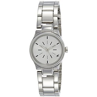 a9baa13d7 Buy Fastrack Analog Silver Dial Womens Watch-6114SM01 Online ...