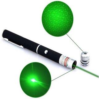 2 in 1 Green Laser Pointer Light Pen Visible Beam High Power Lazer 10mW