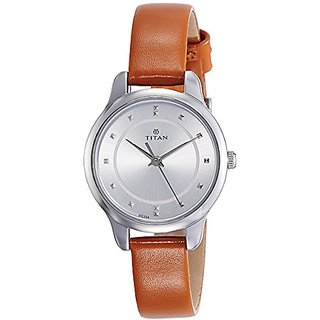 Titan Ladies Neo-Ii Analog Silver Dial Womens Watch-NK2481SL06