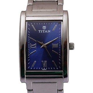 Titan Purple Analog Blue Dial Womens Watch - 9773SL01
