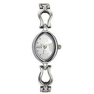 Titan Raga Analog Silver Dial Womens Watch - N2370SM03
