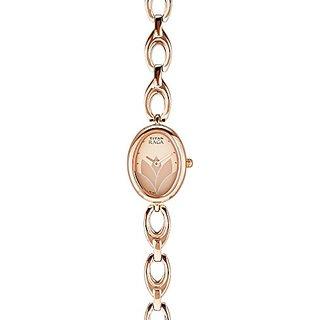 Titan Raga Rose Gold Dial Womens Analog Watch - 2511WM03