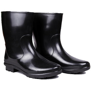 WI-Hillson Don Plain Toe Dual PVC Safety Gumboot UK/IND Size