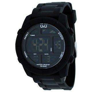 Q&Q Digital Watch - For Men (Black) M123J001Y