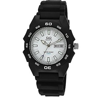 Q&Q Regular Analog White Dial Mens Watch - A170J002Y