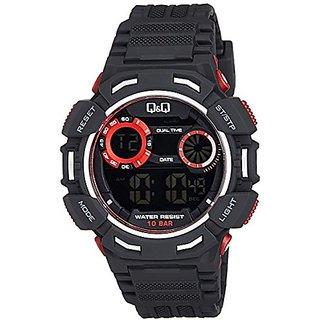 Q&Q Digital Grey Dial Mens Watches - M148J002Y