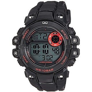Q&Q Digital Grey Dial Mens Watches - M151J001Y