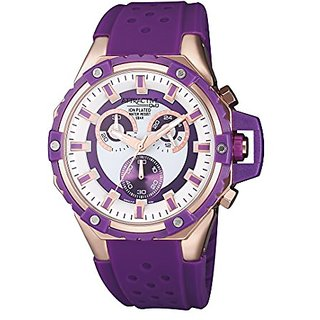 Q&Q Attractive Chronograph-Analog Multi-Color Dial Womens Watch-DG02J151Y