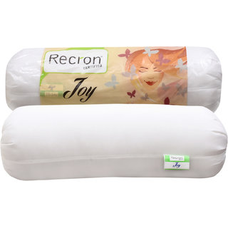 Recron Certified Bolster Joy Size 9x24 Inch (Pack of 1)