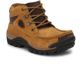 KNOOS MENS 100% GENUINE LEATHER CASUAL BOOTS-WD-226