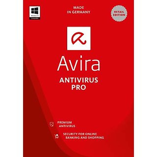 Avira Antivirus Latest Version 3 User One Year (Email delivery)