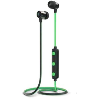 Syska H-15 Bluetooth Headset - Green