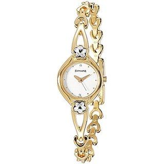 Sonata Analog White Dial Womens Watch - NF8065YM01