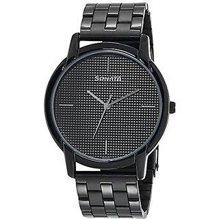 Sonata Analog Dial Mens Watch - 77031NM02