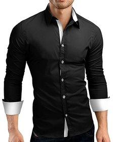 US Pepper Designer Black White Shirt (Pack of 1)