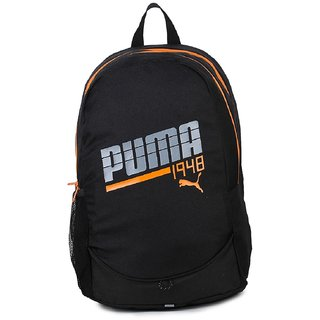 Buy Puma 1948 Graphic Black Laptop Backpack Online - Get 64% Off 96dad54eb2d33