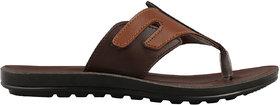 Czar Men's Stylish Brown Sandal