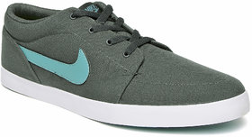Nike Men Charcoal Grey Voleio Canvas Sneakers