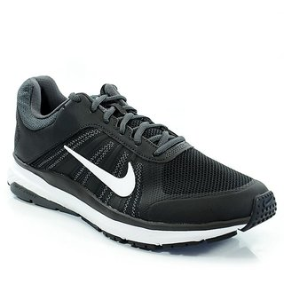 Nike MenS Dart 12 Black Running Shoes