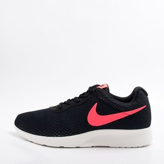 Nike MenS Tanjun Se Black & Red Running Shoes