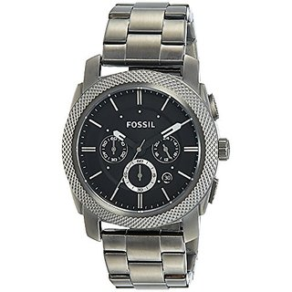 Fossil Analog Black Dial Mens Watch - FS4662