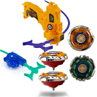 Wishkey New High Speed Beyblade Metal fusion Set With launcher For kids