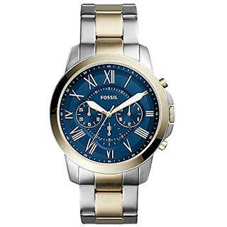 Fossil Analogue Blue Dial Mens Watch-Fs5273