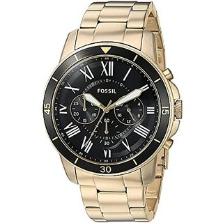 Fossil Analogue Black Dial Mens Watch -FS5267