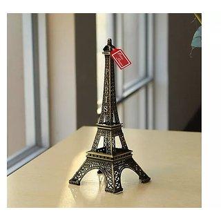 Onlineshoppee Metal Eiffel Tower Souvenir Showpiece 15 cm