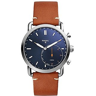 Fossil Analog Blue Dial Mens Watch-FTW1151
