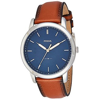 Fossil Analog Blue Dial Mens Watch-FS5304