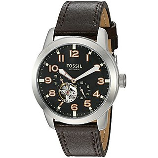 Fossil Analog Black Dial Mens Watch-ME3118
