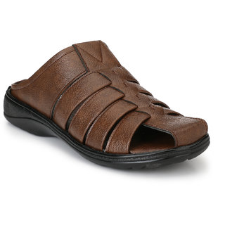 Knoos Men's Brown Sandals