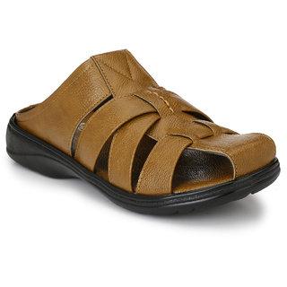 Knoos Men's Tan Sandals
