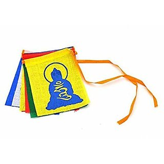 SCORIAreg Buddha Tibetian Buddhist Prayer Car Flags For Mahindra XUV500