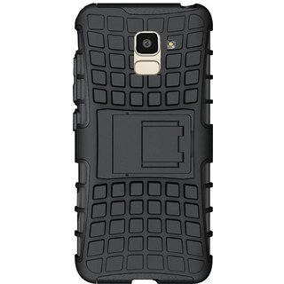 Samsung Galaxy A6(2018) Tyre Defender Cover Black By Ved Sales