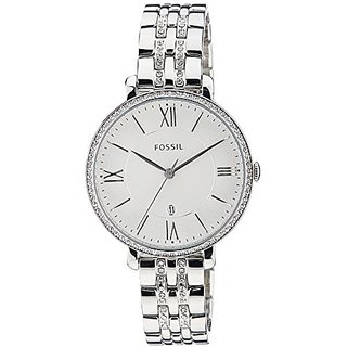 Fossil Jacqueline Analog Silver Dial Womens Watch - ES3545I