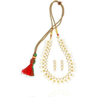 The Unique Pearl Set By Sri Jagdamba Pearls
