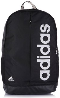 Adidas Black Lin Per Bp Medium Backpack Bag
