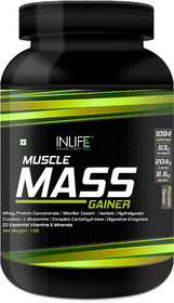 INLIFE Muscle Mass Gainer Protein Powder With Whey Prot