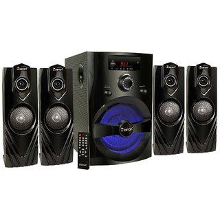 Zeston ZX6666 Home Theatre System Audio Speaker Black, 4.1 Channel