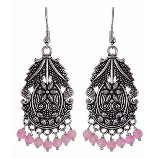 0bacf323c Buy Efulgenz Oxidised pink Alloy Dangle Earrings Girl Online - Get 75% Off