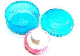 Nawani Powder Puff with Powder Storage(Color May Very)