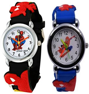SONIXby Kingz Traders Round Dial Multi Rubber Quartz Kids watch